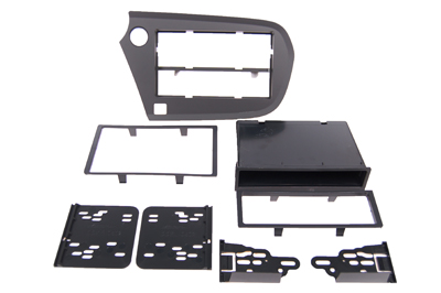 RTA 002.369-0 Multi-frame mounting kit with storage compartment, ABS black matte version