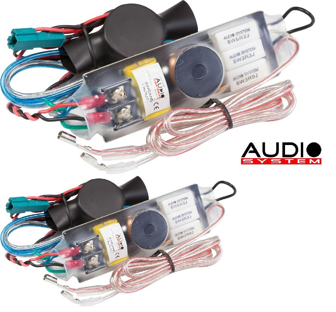 AUDIO SYSTEM FWK BMW/VW EVO Frequenzweichen / Crossover 1 Paar (2 Stück)