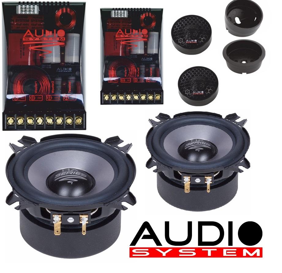 Audio System HX 100 SQ EVO 2 HX-SERIES SQ 10cm 2-Wege HIGH END System