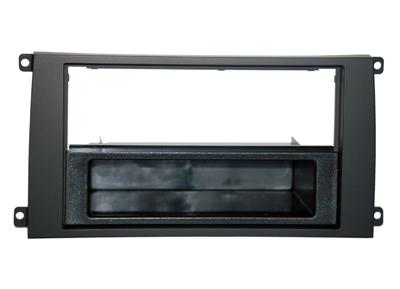 RTA 000.470-0 1- DIN Einbaurahmen, ABS schwarz PORSCHE: Cayenne, alle Modelle/02 ->