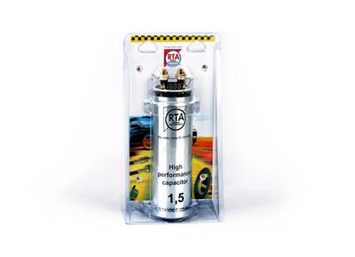 RTA 350.005-0 Pufferkondensator 1,5 Farad - mit elektr