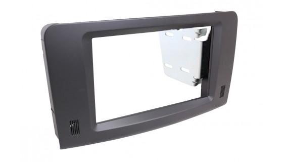 RTA 002.065P1-0 Doppel DIN Profi Blende, schwarz M / ML (W164)  05 ->