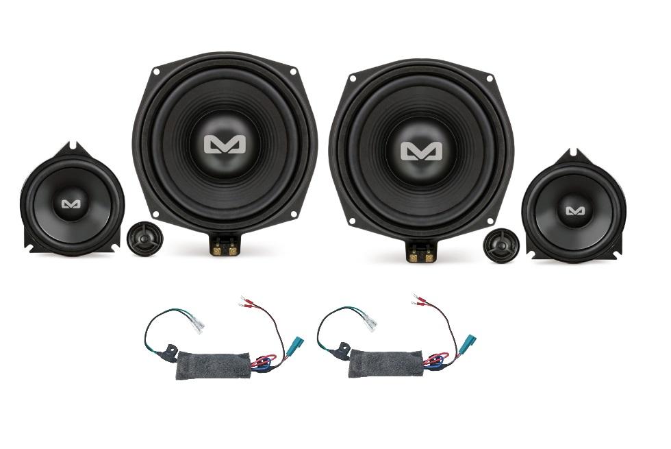 AMPIRE BMW-S1 3-Wege-System für BMW Fahrzeuge 200 Watt