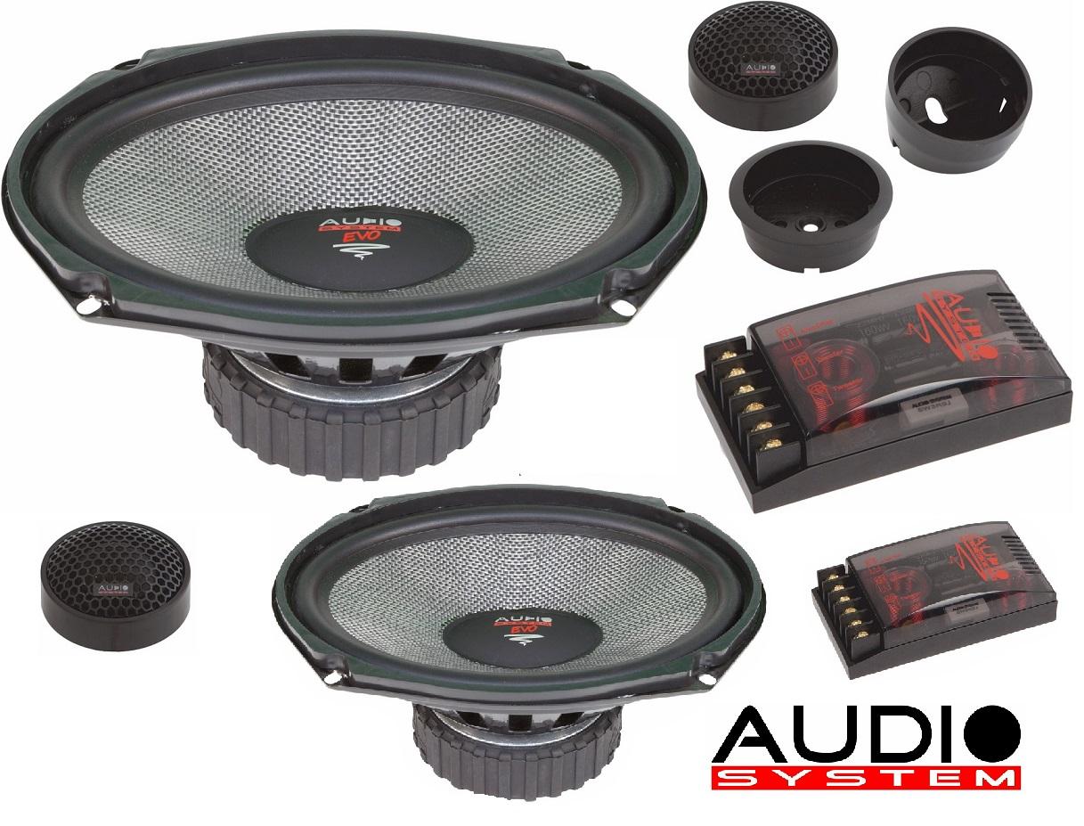 Audio System R 609 EVO 6x9 2-Wege Compo System RADION-SERIES 150 Watt 1 Paar