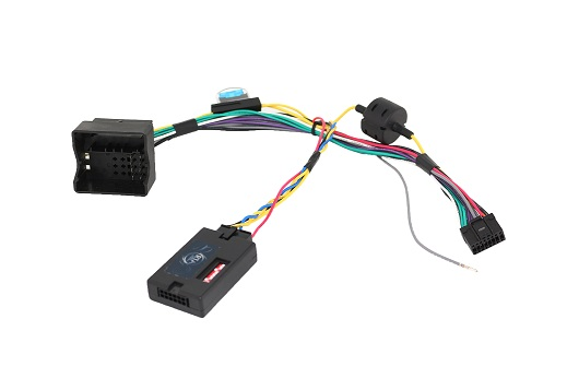 RTA 014.559-0 CAN bus interface with special Harness Plug & Play for many Zenec XZENT and equipment including Radio cable for the steering wheel remote control