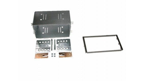 RTA 002.400P1-2 Double Cadre DIN Profi , noir, KIA Magento II 05 > 10