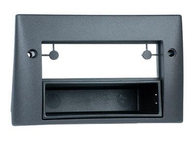 RTA 001.304-0 2 - montage sur rail DIN cadre, ABS noir