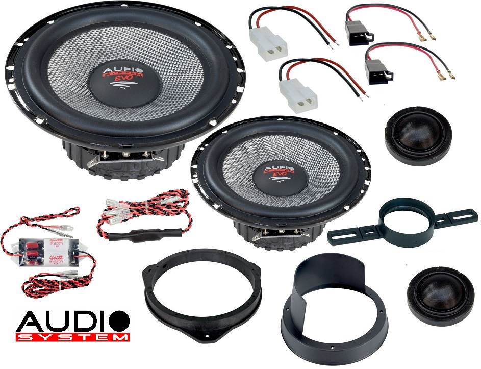 Audio System XFIT CITROEN JUMPER EVO 2 Lautsprecher 16,5 cm 2-Wege CITROEN JUMPER ab 2006