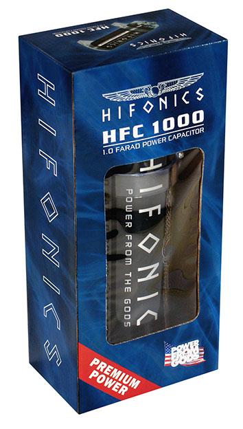 HIFONICS HFC1000 Pufferelko 1 Farad HFC 1000 Powercap Kondensator