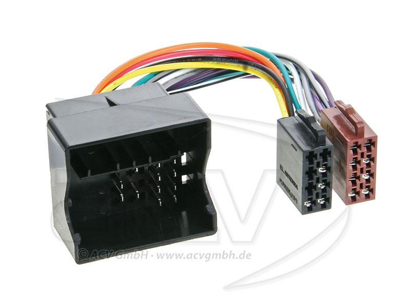 ACV 1254-02 Radio cable Renault (quadlock)
