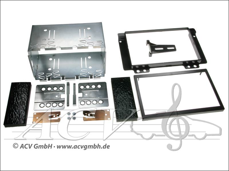 Double-DIN installation kit Land Rover Freelander