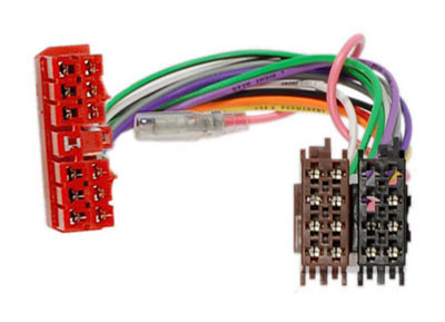 RTA 004.260-0 Adapterkabel fahrzeugspezifisch für Renault Clio, Espace, R5, R11, R19, R21, R25