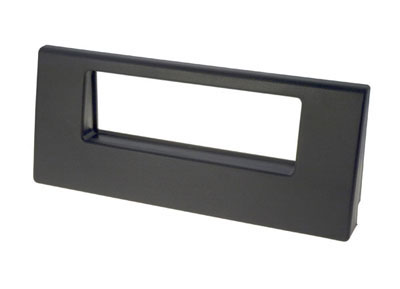 RTA 000.345-0 1 - DIN mounting frame, Black ABS
