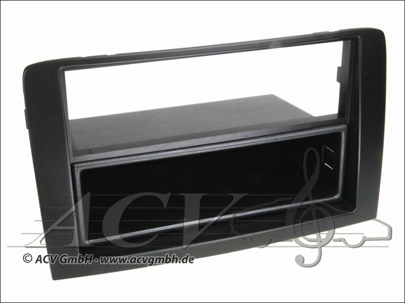 Radioblende Fiat Idea Doppel ISO schwarz