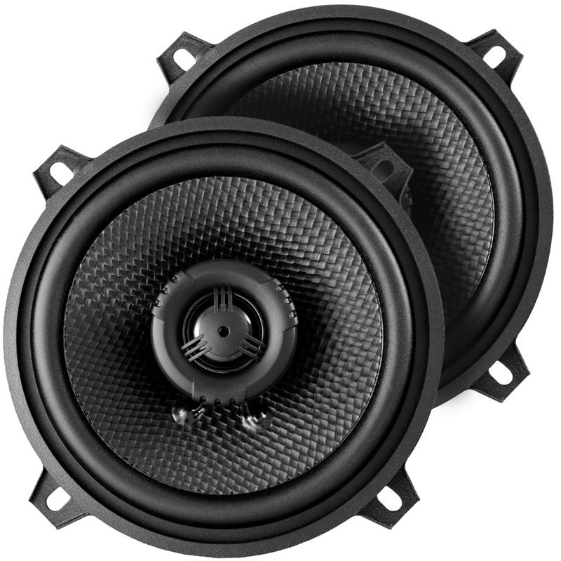 AMPIRE CP130 Koaxial-Lautsprecher ohne Gitter, 13cm (Paar) Koax Speaker 1 Paar (2 Stück)