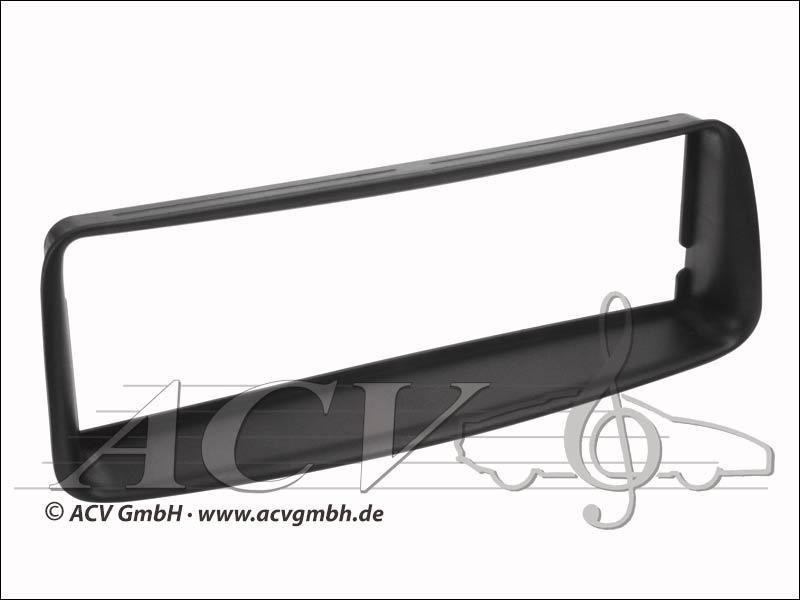 Radioblende Peugeot 206 black