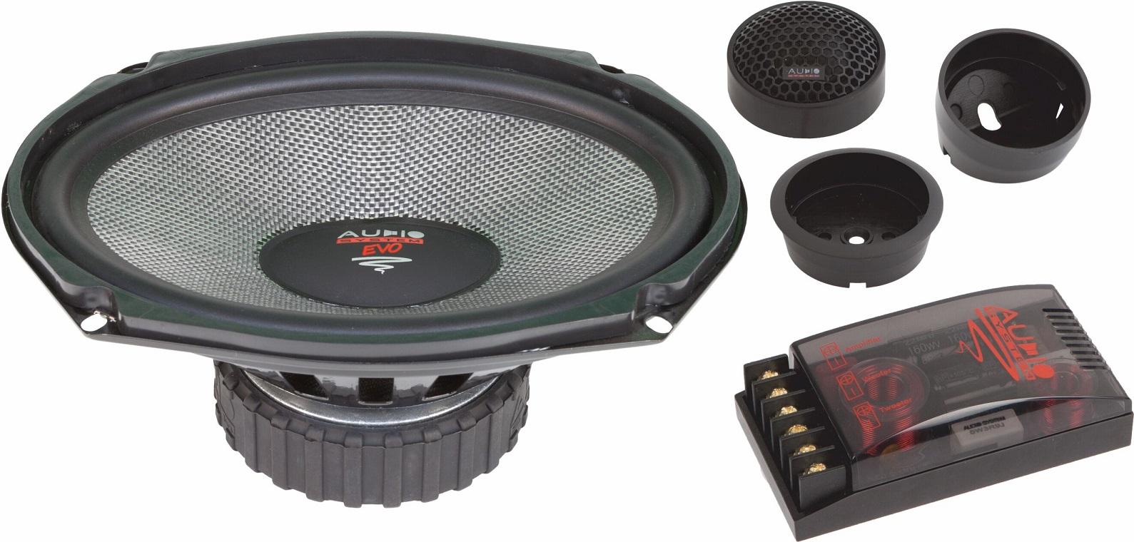 Audio System R 609 EVO RADION-SERIES 2-Wege 6x9 Spezial System Lautsprecher Speaker