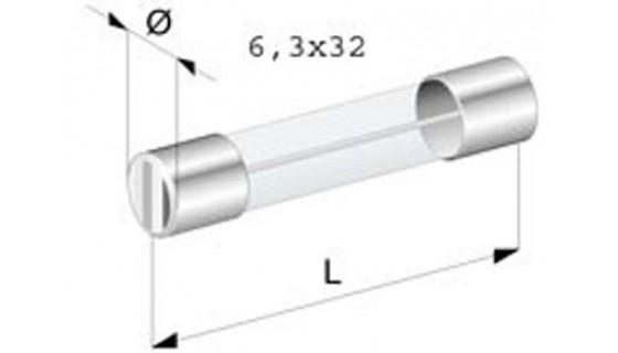 RTA 154.451-0 Glassicherungen - FLINK, Set 6x32 mm 3-teilig