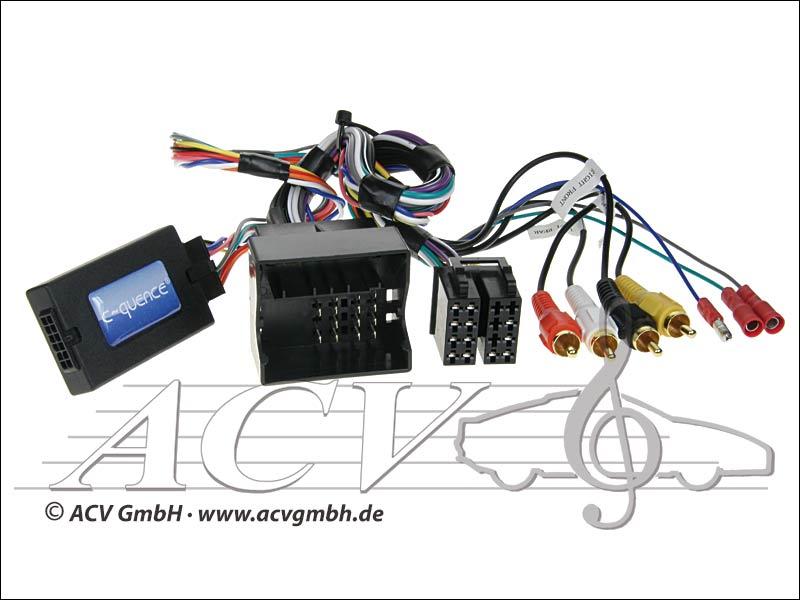 42-AD-202 CAN-Bus steering wheel adapter AUDI quadlock -> Panasonic