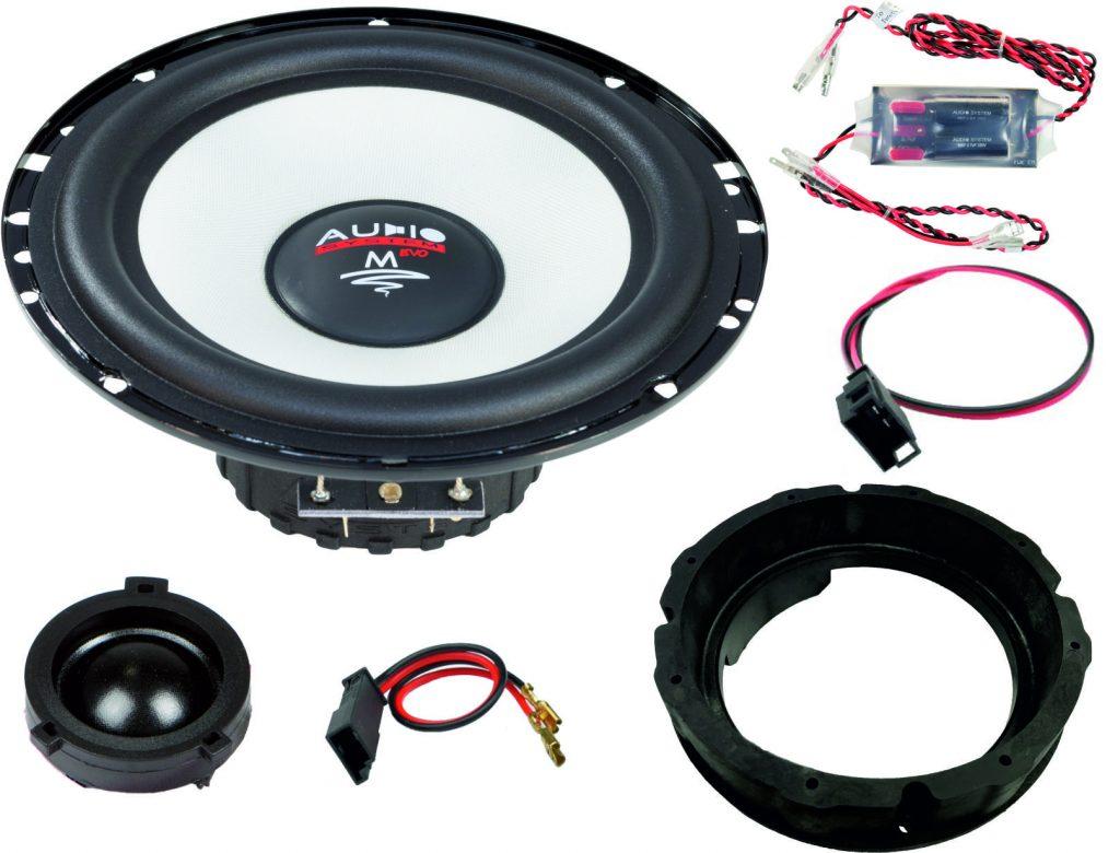 AUDIO SYSTEM MFIT SKODA OCTAVIA 5E EVO2 90W PERFECT FIT COMPO SYSTEM Lautsprecher für SKODA OCTAVIA 5E 2012 ->