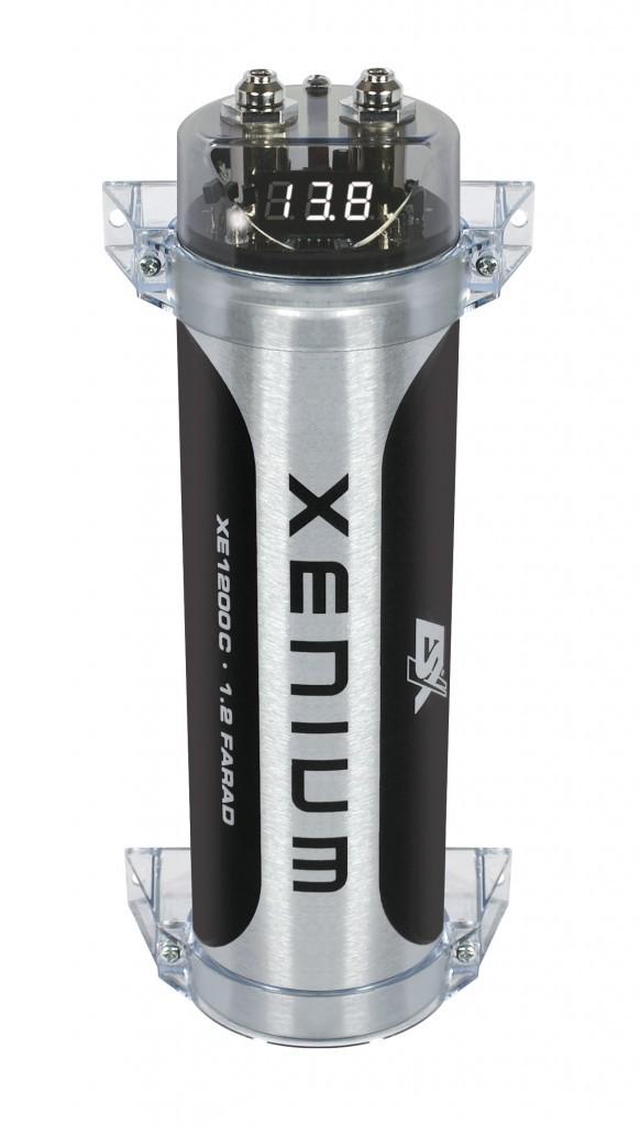 ESX XE1200C Pufferelko 1.2 Farad Kondensator ESX XE-1200
