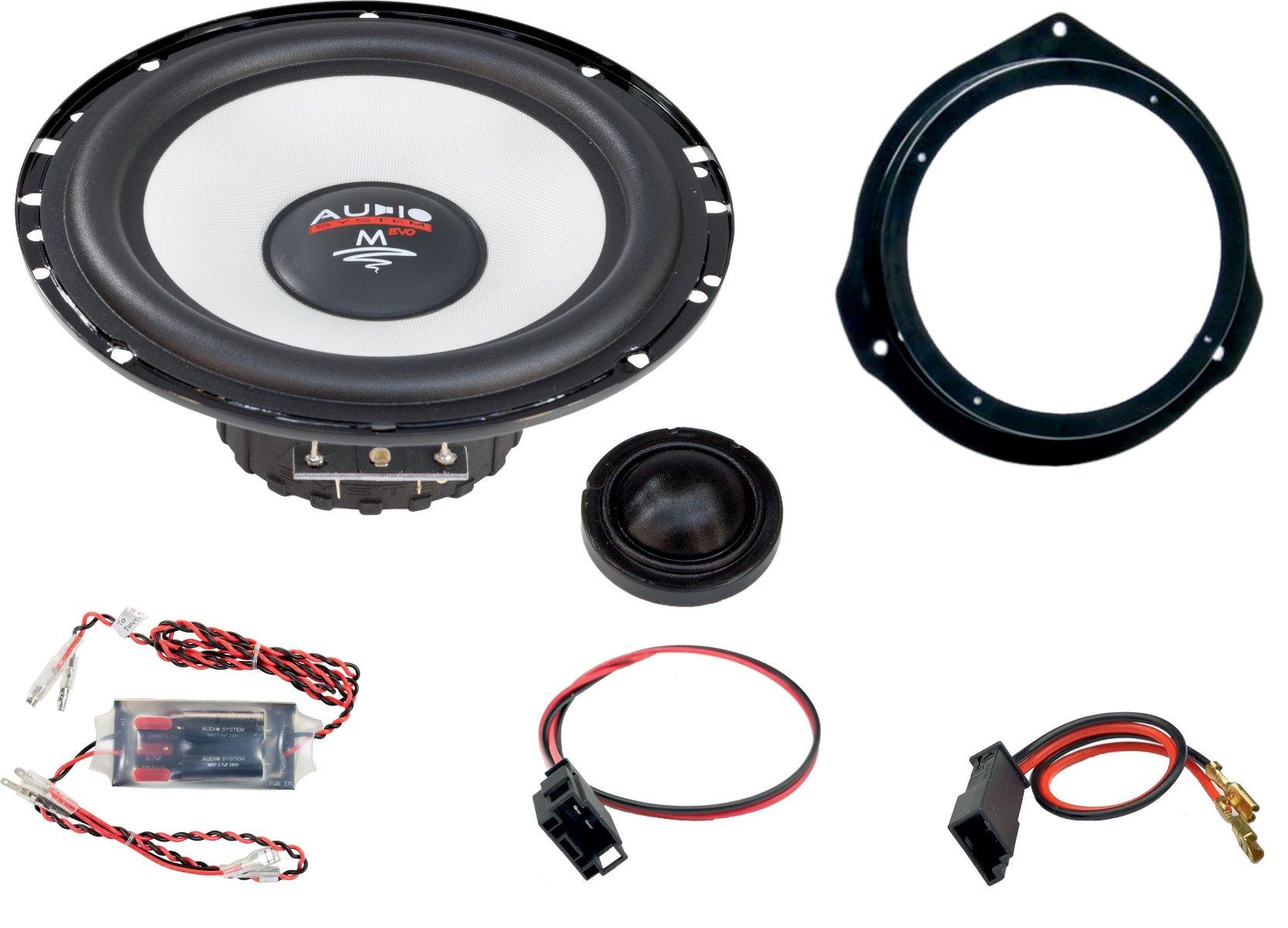 Audio System MFIT MERCEDES X-KLASSE 470 EVO 2 Lautsprecher 165 mm 2-Wege MERCEDES X-KLASSE 470 Compo System