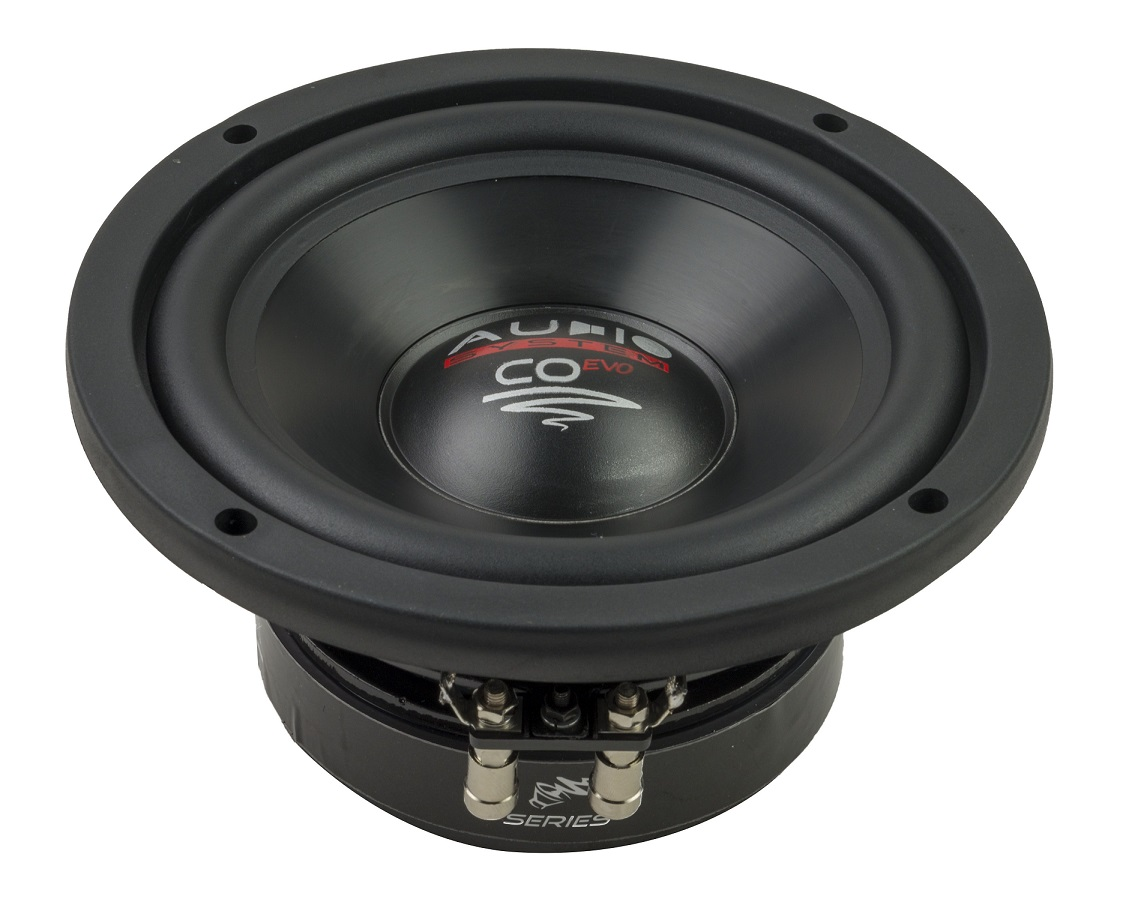 Audio System CO 06 CO-SERIES 165 mm HIGH EFFICIENT WOOFER Subwoofer 16,5cm 150 Watt RMS