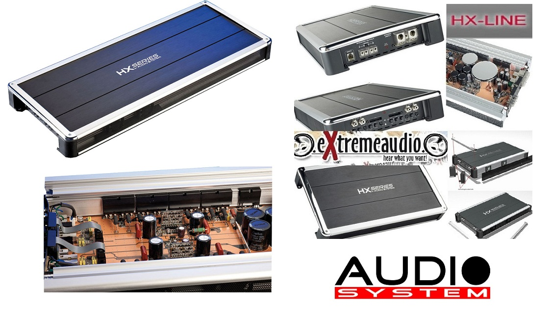 Audio System HX260.2 2-Kanal High End Verstärker HX 260.2