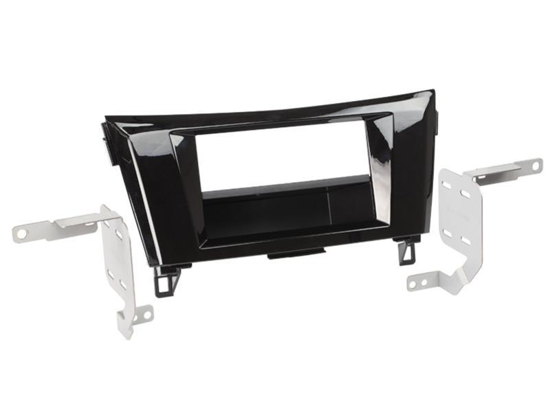 ACV 281210-17-1 2-DIN RB mit Fach Nissan Qashqai 2014 > Klavierlack /schwarz