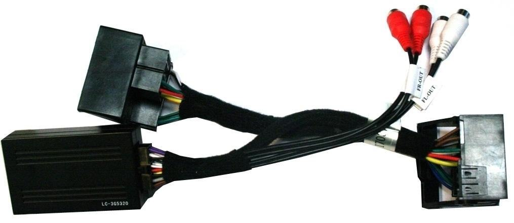 ESX VNA-HLC4-MB High Low Converter 4 Cinch-Vorverstärkerausgänge