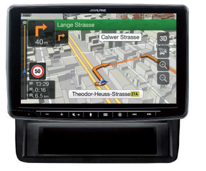 Alpine INE-F904T6 All in One Navigation mit 9-Zoll Display für VW T5, T6, Apple CarPlay und Android