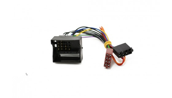 RTA 004.281-0 Adapter cable ISO - FAKRA , with + 12V power for orange Kl 15 and Kl.58.