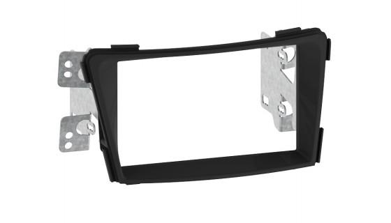 RTA 002.457P1-0 Doppel DIN Profi Blende, schwarz Hyundai i40 -ohne Werksnavi- 11>
