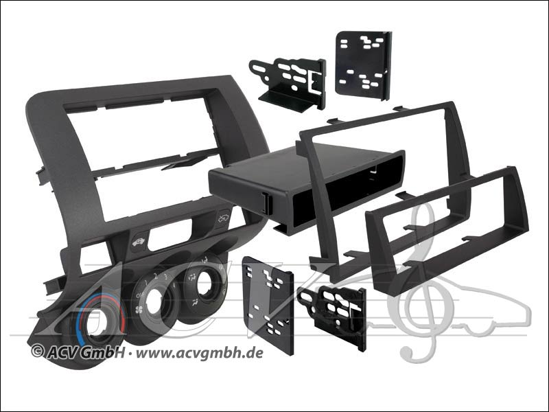 Double ISO Installation Kit for Honda Fit
