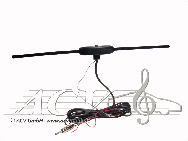 "151000-04 ""Double Amplified"" Universal Glasklebeantenne"