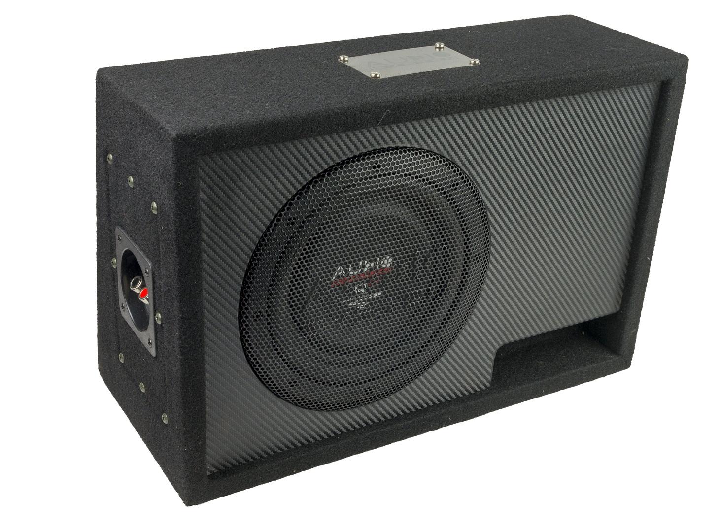 Audio System R 08 FLAT BR ACTIVE EVO Bassreflexgehäuse R 08 FLAT EVO + CO-200.1 aktiver Subwoofer