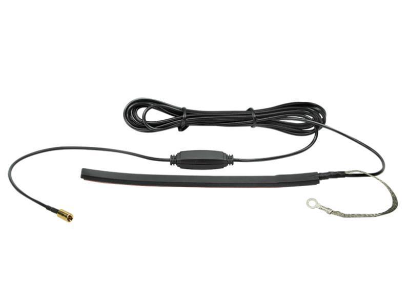 ACV 151000-16 Glasklebeantenne DAB 5 Volt -> 12 Volt