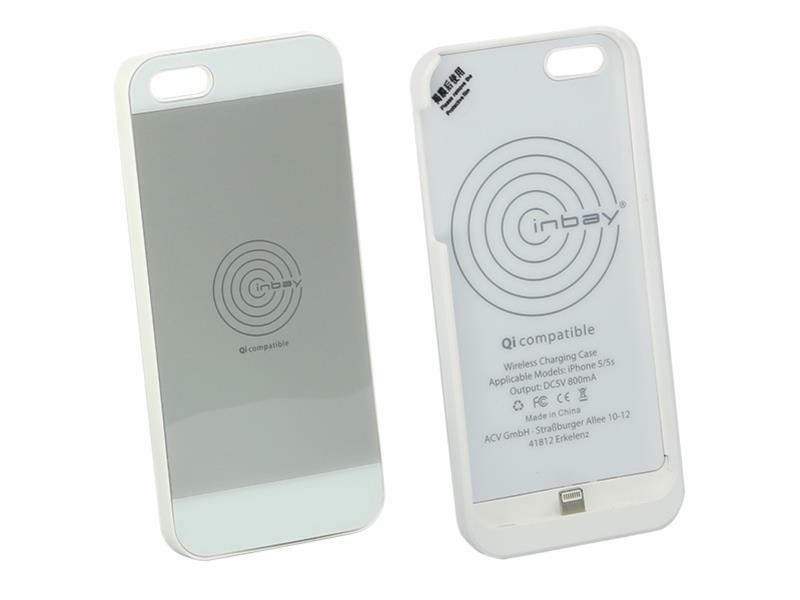 ACV 240000-20-01 Inbay® Ladeschale für iPhone 5/5S weiss