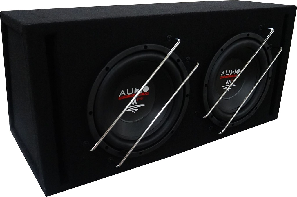 Audio System M 10 EVO BR-2 25cm Bassreflexgehäuse M-SERIES EVO HIGH EFFICIENT 600 Watt RMS