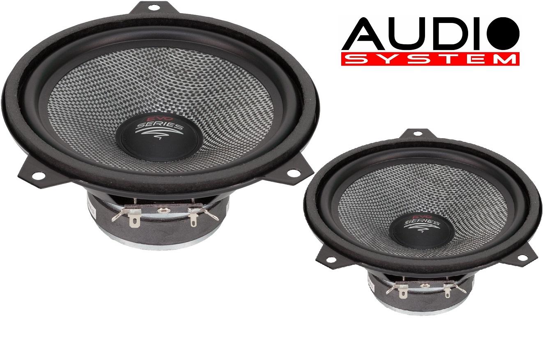 AUDIO SYSTEM AS 165 E46 EVO Tief / Mitteltöner / Midrange Lautsprecher 1 Paar