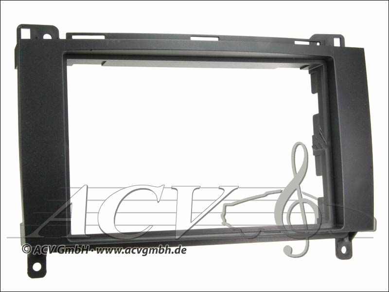 Double DIN Touch Rubber Mercedes AB Class / Sprinter / Vito