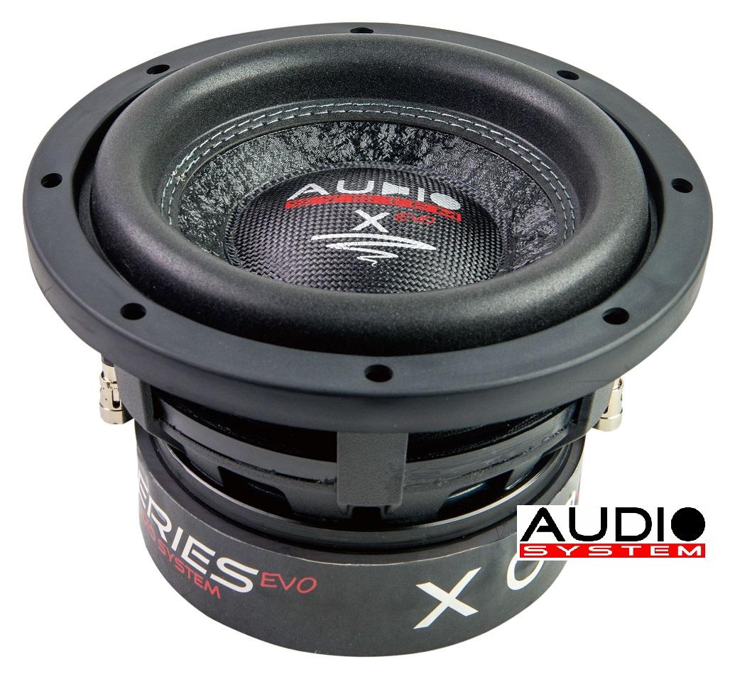 Audio System X 06 EVO X--ion SERIES EVO Woofer 16,5cm LANGHUB Subwoofer 300 Watt RMS
