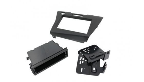 RTA 002.363S1-0 Double DIN mounting frame , black Honda CR - Z 09 >
