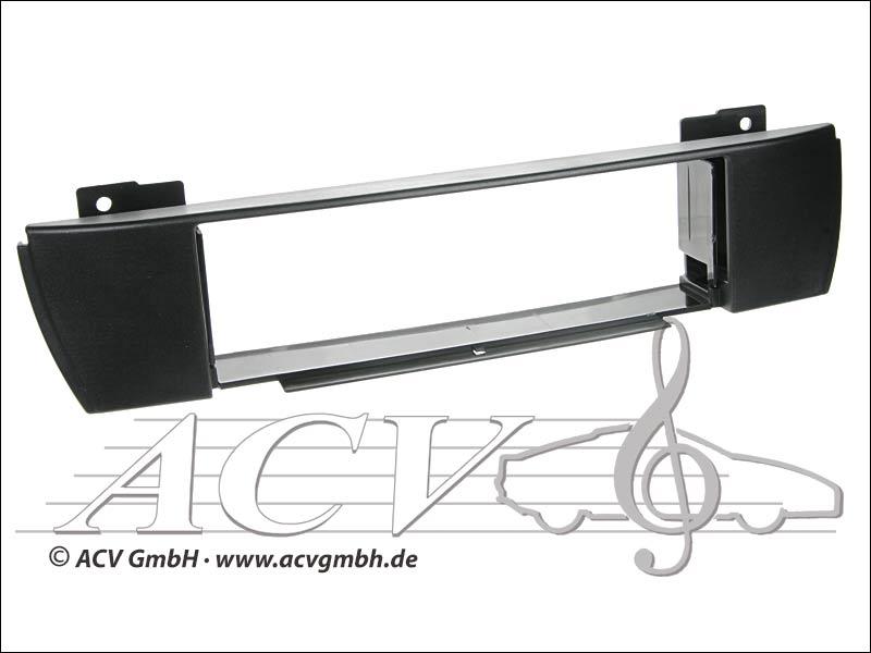 ACV 291023-05 Radioblende Rubber Touch BMW X3 E83 schwarz