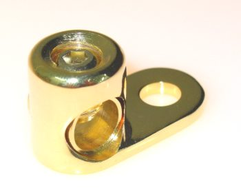 Sinuslive MKS-50 Massekabelschuh Winkel für Kabel bis 50mm²