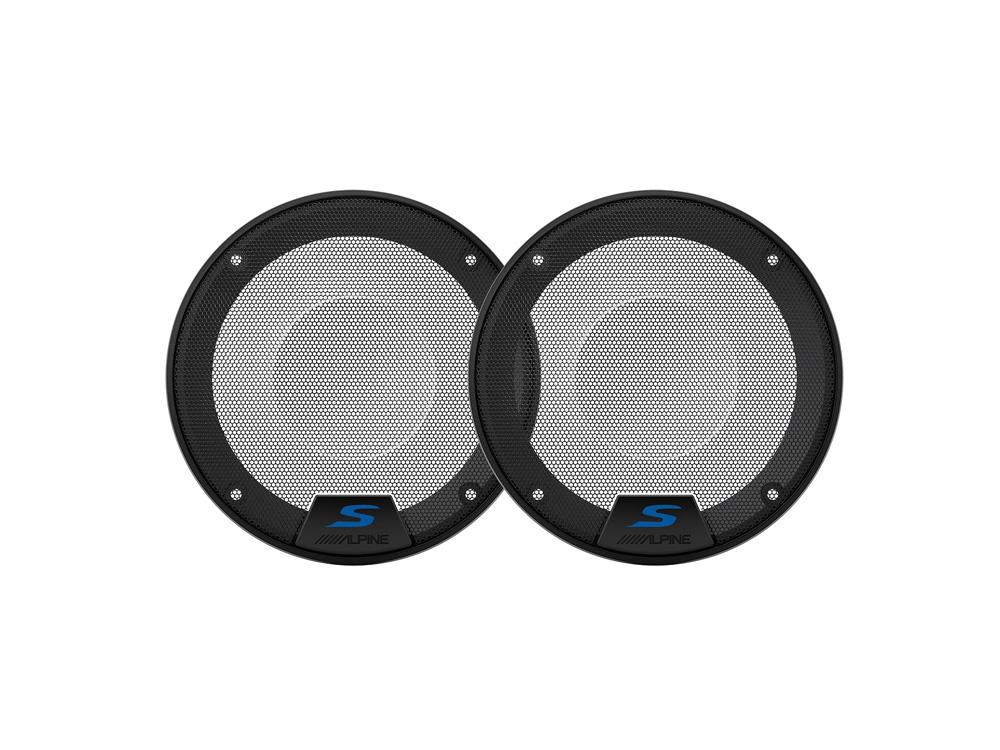Alpine KTE-S50G 13 cm (5,25-Zoll) S-Series Lautsprechergitter für S-S50 1 Paar