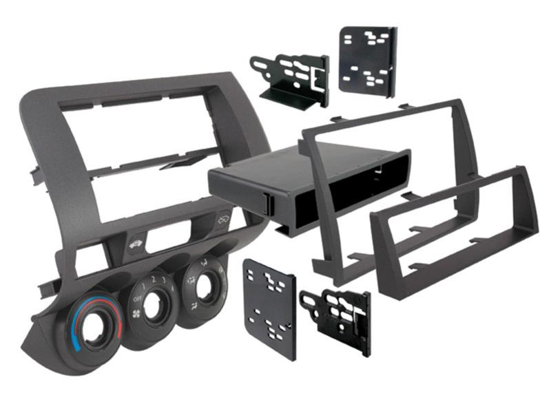 ACV 381130-06 2-DIN RB with specialist Honda Fit 2006 to 2007 black