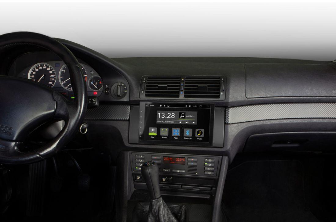 RADICAL R-C11BM3 BMW E39 Infotainer Android Autoradio für BMW 5er E39 Limousine, Touring und M5