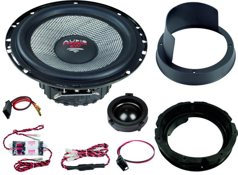 AUDIO SYSTEM XFIT SKODA OCTAVIA 5E EVO2 110W PERFECT FIT COMPO SYSTEM Lautsprecher für SKODA OCTAVIA 5E 2012 ->