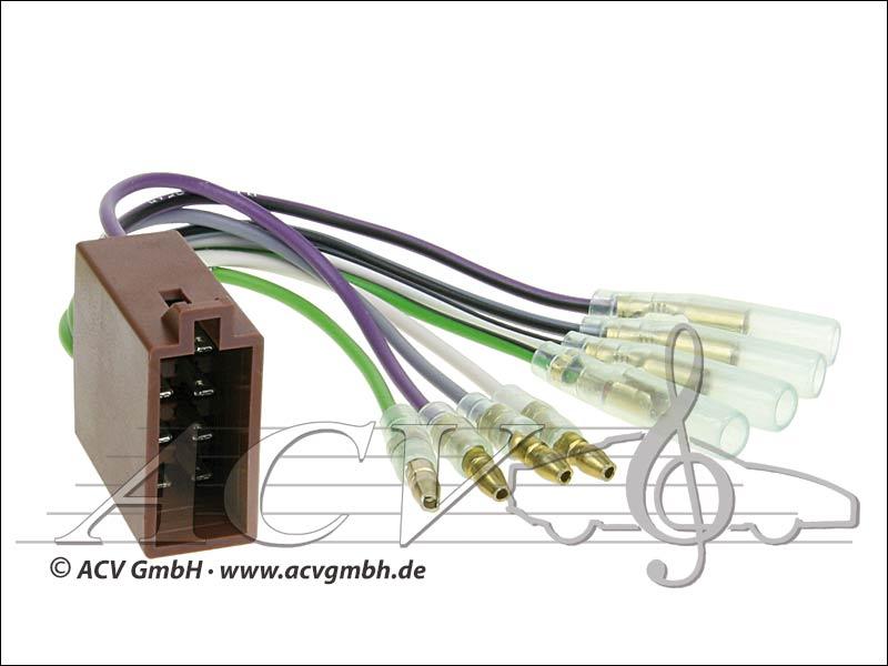 ACV 1322-04 Universal retrofit kits Speakers